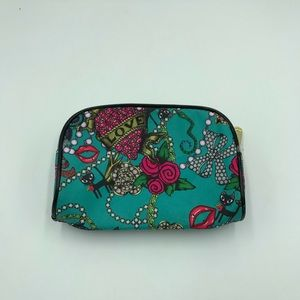 Betsy Johnson Make up Cosmetic bag
